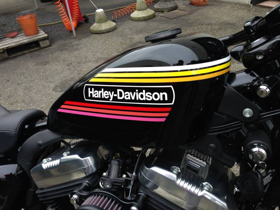Harley Davidson  - 75